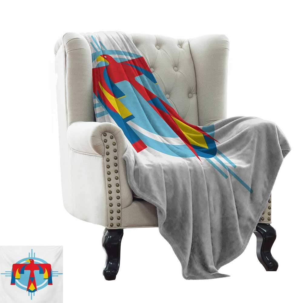 ca5862136d0c color12 35 x60 Weighted Blanket for Kids Southwestern,Rhombus Shapes ...