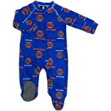 Outerstuff Infant/Toddler New York NY Knicks Coverall Zip Up Sleeper