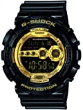 Casio G Shock Men's G-Shock Quartz Sport Watch with Resin Strap, Black, 29.4 (Model: GD-100GB-1CR