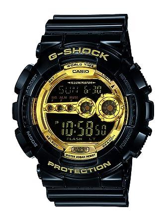 44d4b1fe7 Casio G-Shock for Men - Digital Resin Band Watch - GD-100GB-1: Casio ...