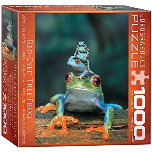 Red-Eyed Tree Frog Puzzle, 1000-Piece