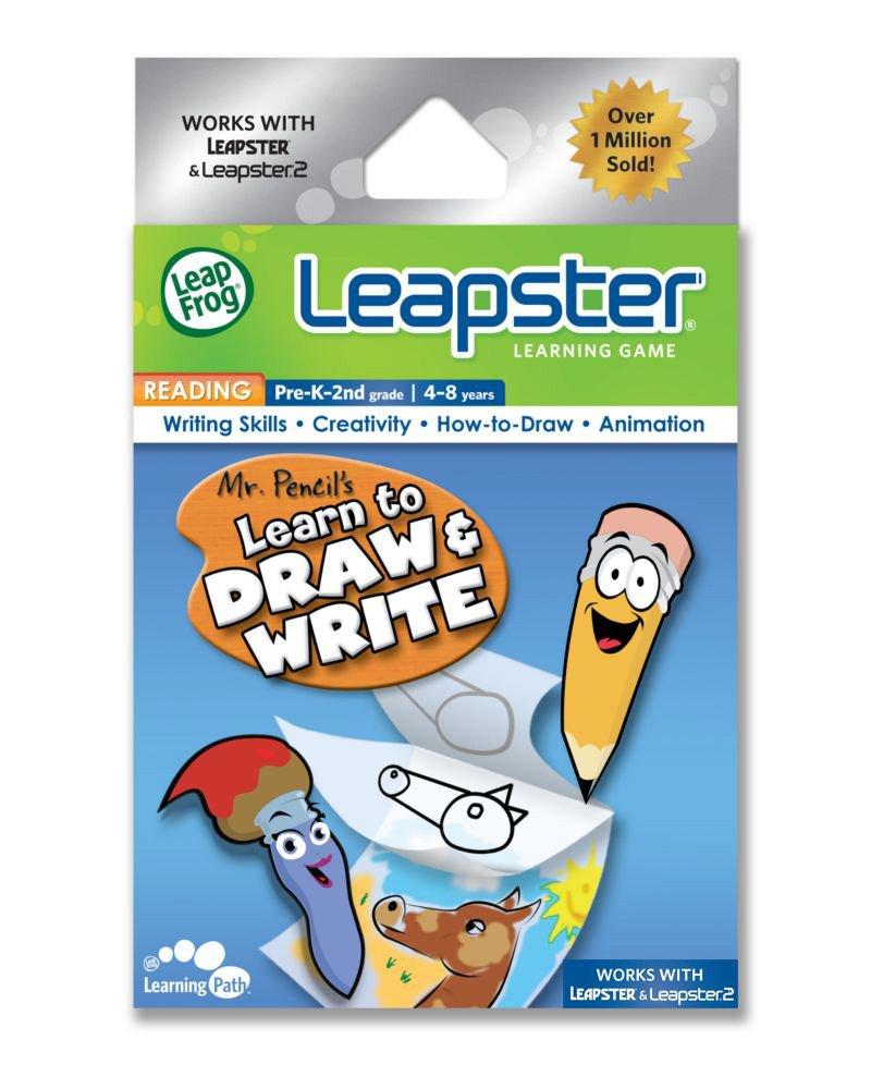 LeapFrog Leapster Game: Herr Bleistift 's Lerne Zeichnen & Schreiben