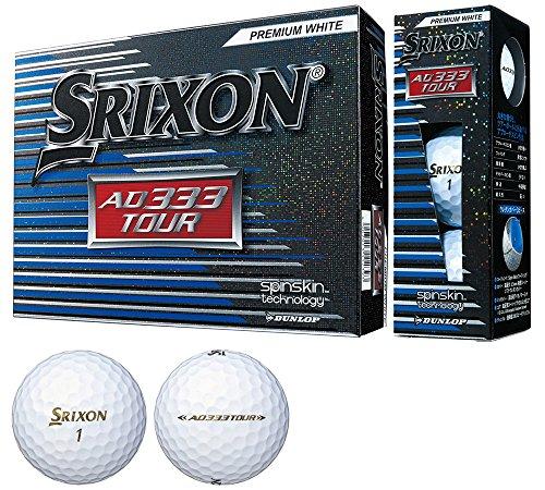 [해외] DUNLOP(던롭) 골프 볼 SRIXON AD333 TOUR 1다스(12개 들이)