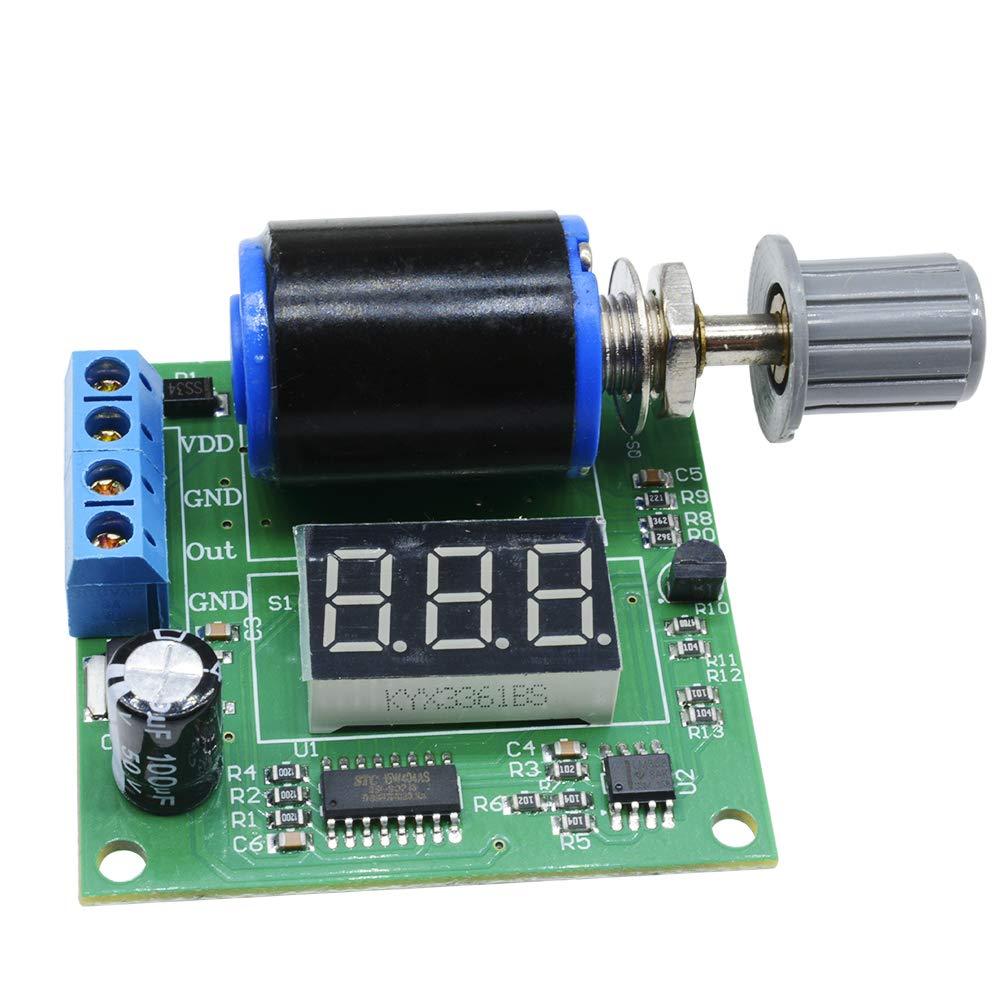 DC 12V 24V 4-20mA Digital Signal Generator Module Board with 3 Digits LED Display