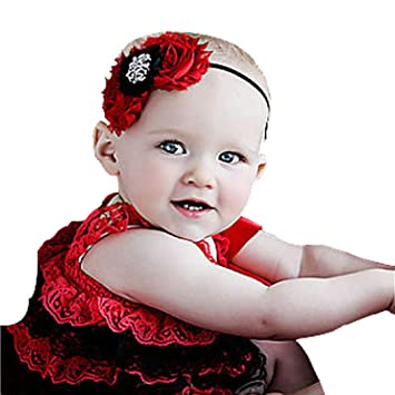 6f99883be65a FEITONG(TM) Lovely Cute Flower Toddlers Infant Baby Girl Lace Hair Band  Headband Headwear