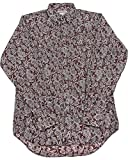 Schaefer Outfitters Men's Burgundy Frontier Paisley Western Snap Shirt Burgundy X-Large
