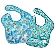 Bumkins Disney Baby Waterproof SuperBib 2 Pack, Dory/Nemo (6-24 Months)