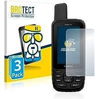 BROTECT Pellicola Vetro Compatibile con Garmin GPSMAP 66s Vetro Prottetivo Flessibile [3 Pezzi] - AirGlass