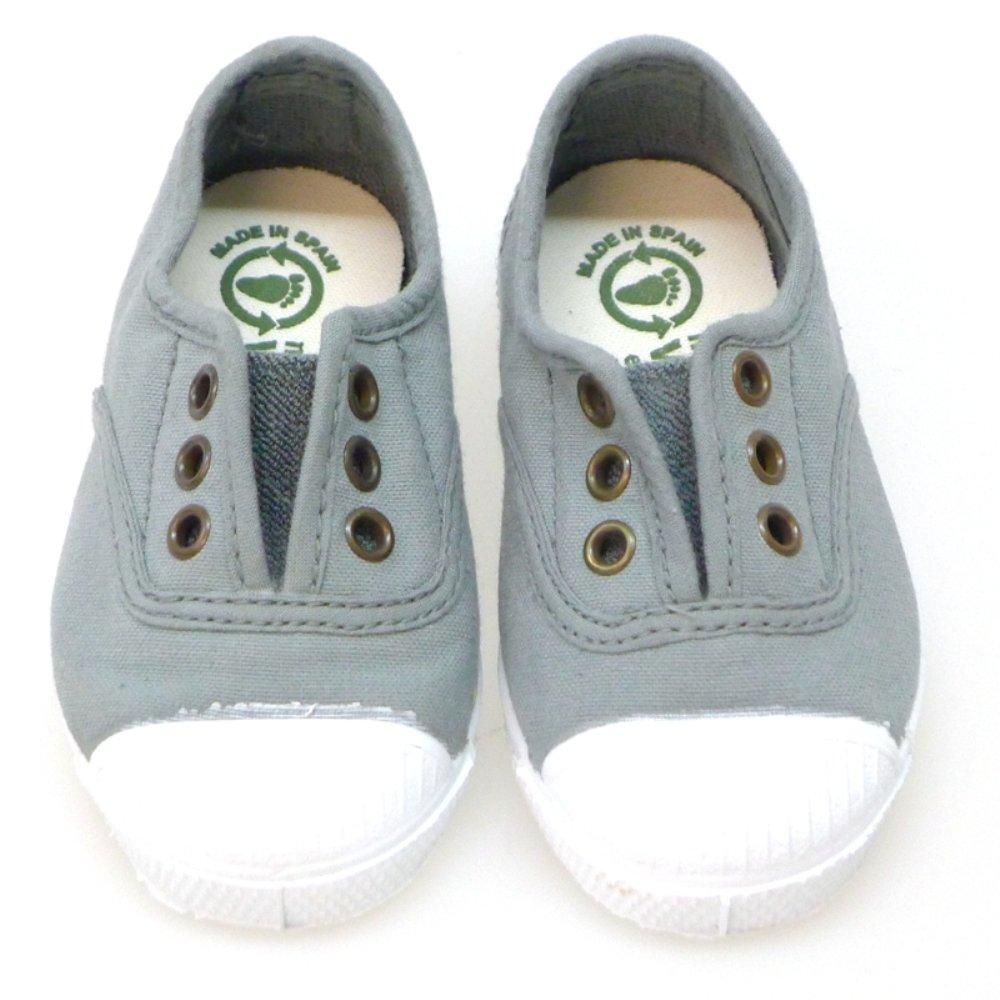 0aa7642556b Natural World Zapatos Niño Lonas 470 Gris: Amazon.es: Zapatos y complementos