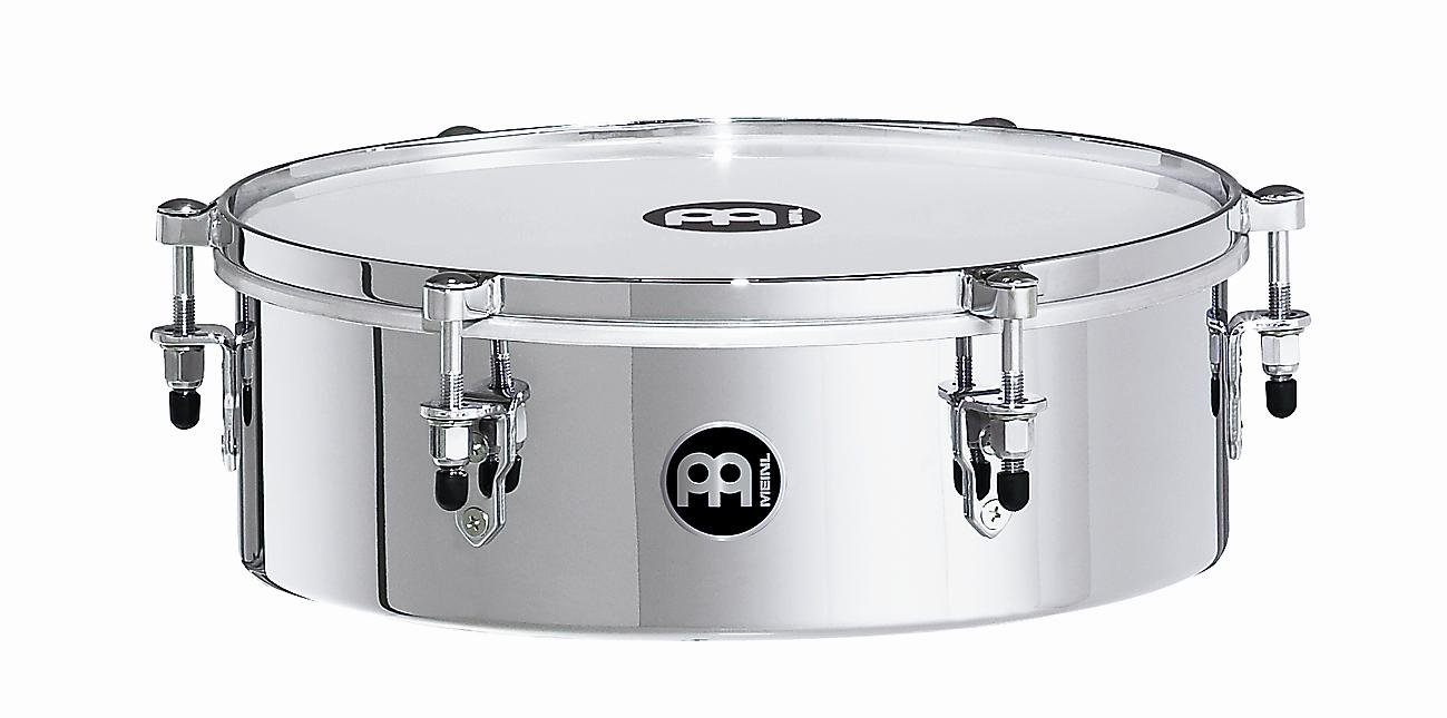 Meinl Percussion MDT13CH 13-Inch Steel Mountable Drummer Timbale, Chrome Finish by Meinl Percussion