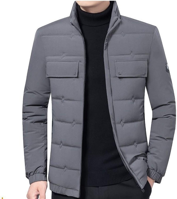 Men/'s Winter Ultralight Duck Down Jacket Thicken//Hooded Puffer Warm Outwear Coat