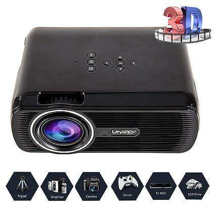 Mar besteu LED Proyector doméstica Proyectores 3000 lumens cine en ...