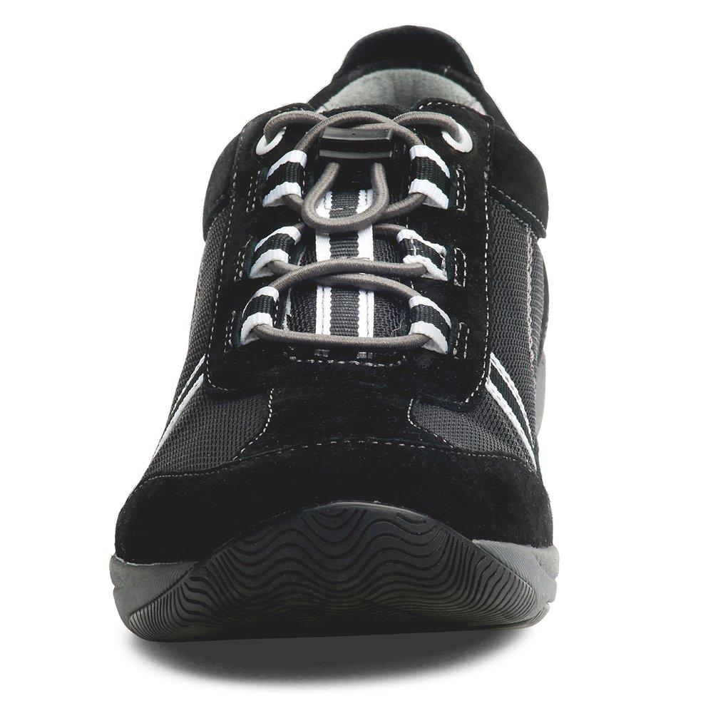 Dansko Women's Helen Sneakers (Black/White Suede,EURO38-US7.5-8) by Dansko (Image #4)
