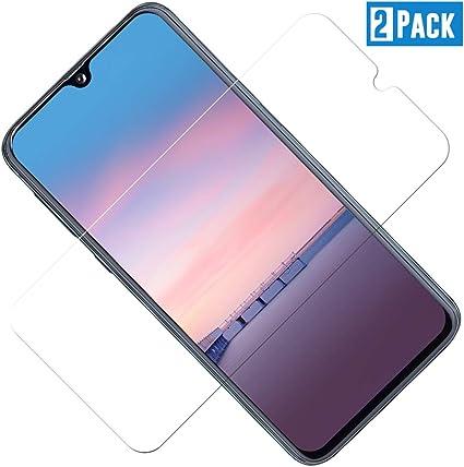 LAFCH Alta Trasparenza Anti Graffio Schermo Protettivo Pellicola per Samsung Galaxy A6 2018 Anti Impronte 2 Pezzi Vetro Temperato per Galaxy A6 2018
