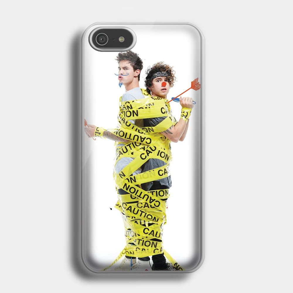Kian And Jc Don't Try This At Home for iPhone case (iPhone 6S white)
