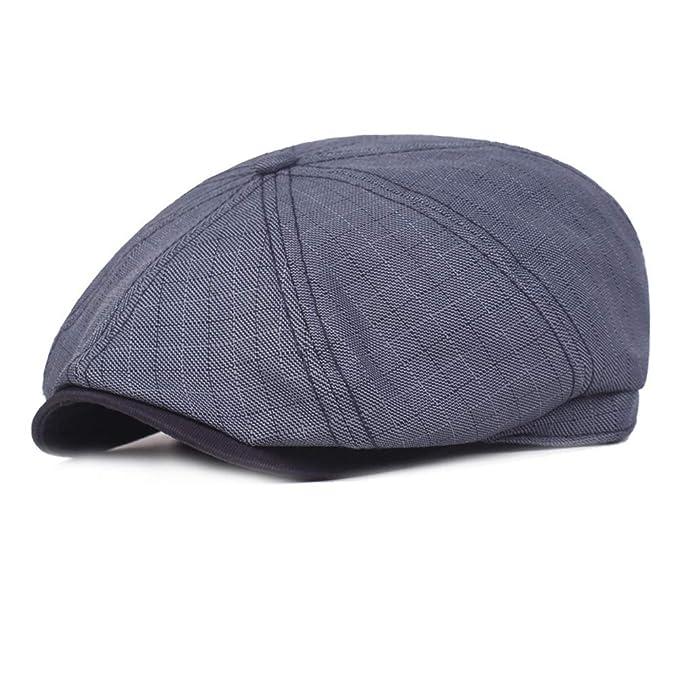 Unisex Men Women Cotton Gatsby Newsboy Hat High Quality Cabbie Driver Hats NEW