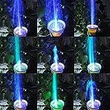 TSSS-15W-Unterwasser-Wasserspielpumpe-Wasser-Pumpen-Garten-Tauchpumpen-Brunnen-Gartenteich-Springbrunnen-Pumpe-LED-Licht-Beleuchtung