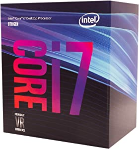 Intel Core i7-8700 Desktop Processor 6 Cores up to 4.6 GHz LGA 1151 300 Series 65W (Renewed)