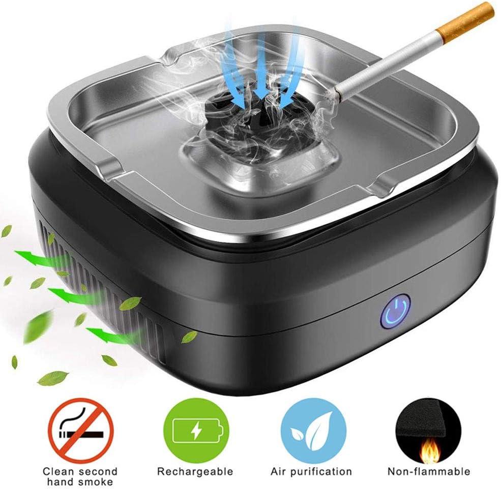 cenicero sin humo, multifuncional negativo purificador de aire ...