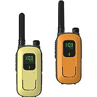 Radioddity Walkie talkies PR-T3 sin Licencia, Recargables, para niños de Entre 3 y 12 años y familias, Tienen 16 Canales…