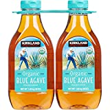 Kirkland Signature Organic Blue Agave All Purpose Sweetener, 36oz Bottle (Pack of 2, Total of 72 Oz)