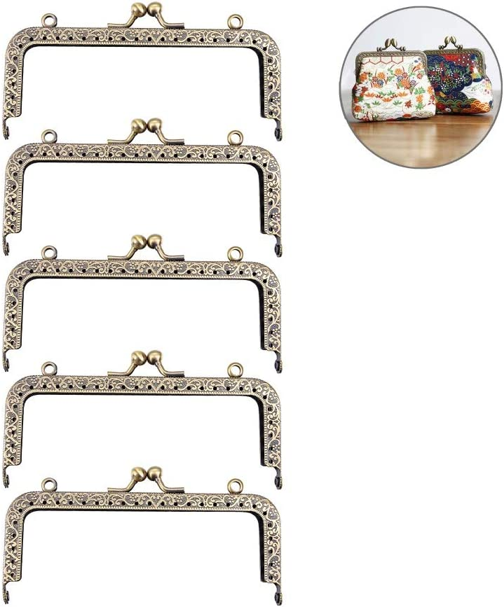 Internal Frame closure Metal Purse Bag Frame Clasp Lock by HooAMI-30 PCS-8cm//10cm//12cm