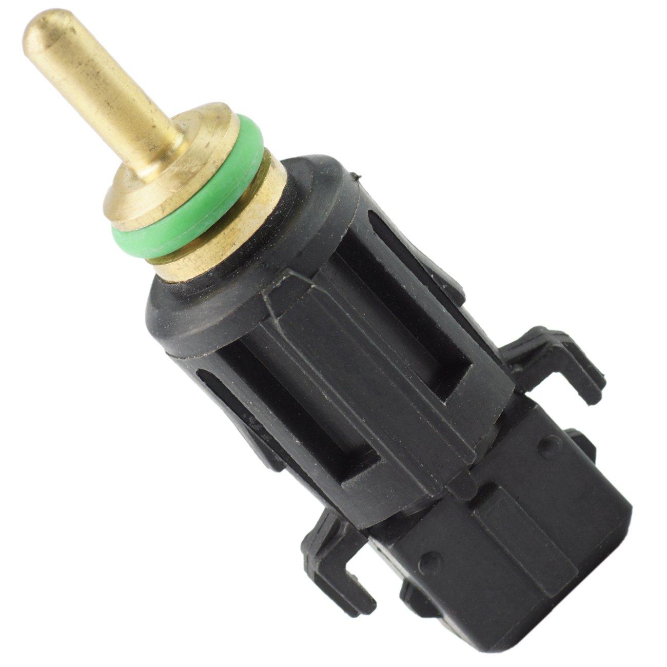 Bapmic 13621433077 Coolant Temperature Sensor Switch in Lower Radiator Hose for BMW E46 E90 E39 E60 E38 X3 X5 X6 Z4