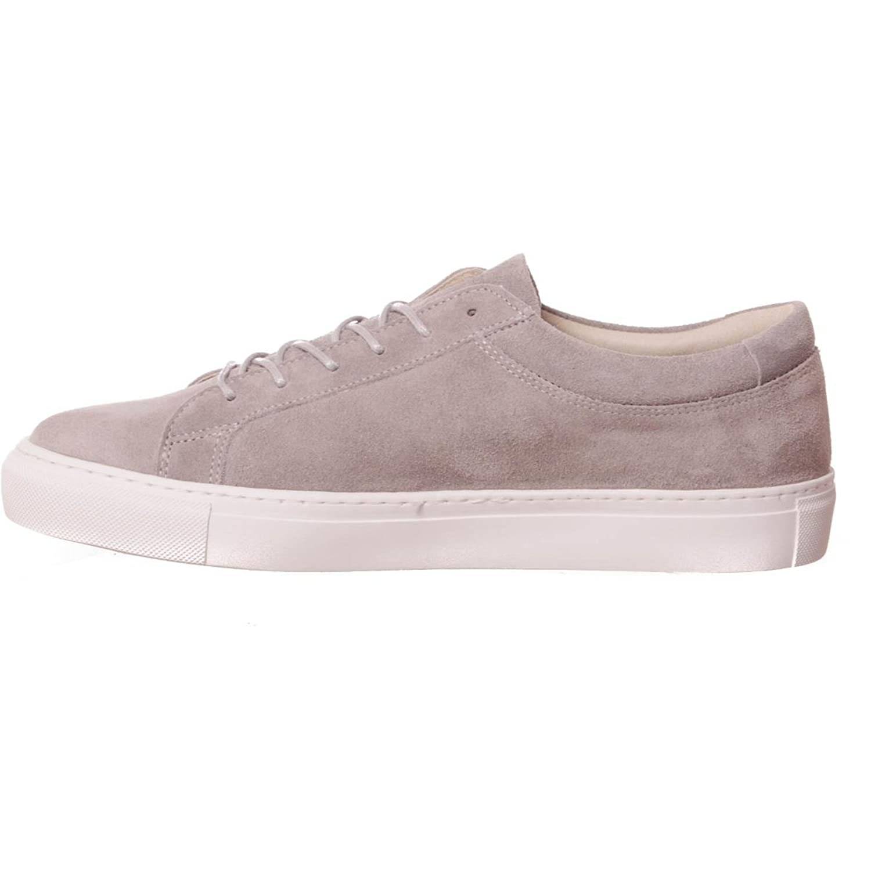 JACK & JONES 12117456 - Zapatillas de Piel para hombre, color gris, talla 44 EU