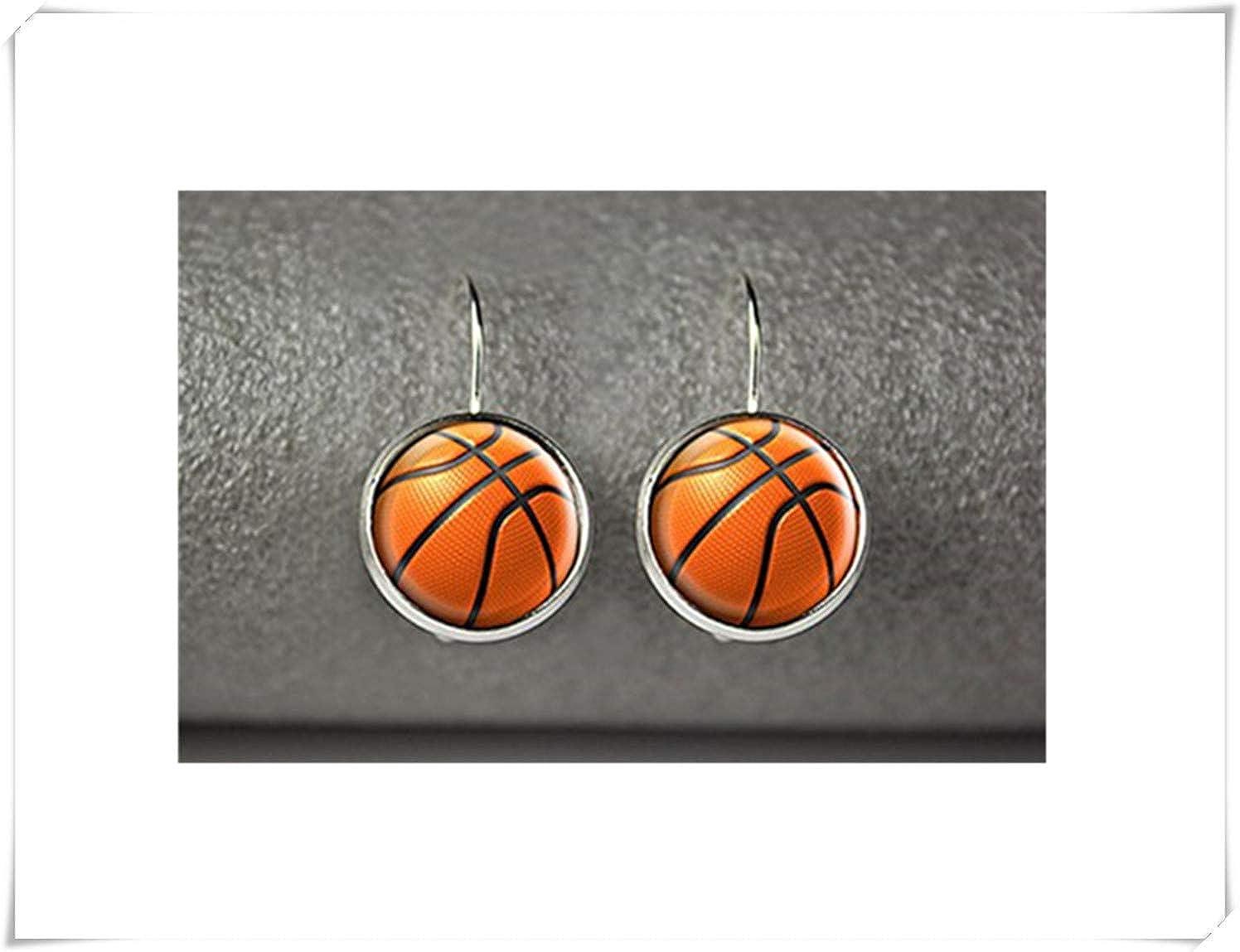 Pendientes de baloncesto, joyería de baloncesto, accesorios de ...