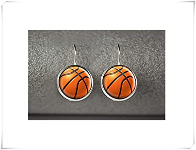 Pendientes de baloncesto, joyería de baloncesto, accesorios ...
