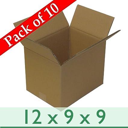 10 x eliminación de cajas de embalaje - fuerte -a4 Tamaño de doble pared cajas