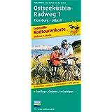 Ostseeküsten-Radweg 1 Flensburg-Lübeck: Leporello Radroutenkarte mit Ausflugszielen, Einkehr- & Freizeittipps, wetterfest, reissfest, abwischbar, GPS-genau. 1:50000 (Leporello Radtourenkarte / LEP-RK)