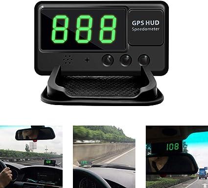 Digital GPS HUD Head Up Display Truck Car Speedometer Speed Warn drive Universal