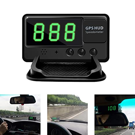 Amazon.com: KingNeed C60 Universal GPS Heads Up Display Car ...