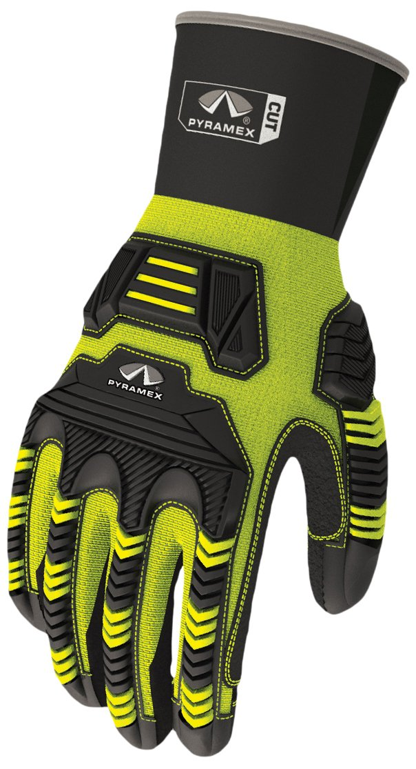 Pyramex Safety GL802CRS Ultra Impact Maximum Duty Cut-Resistant Work Gloves, Small by Pyramex Safety