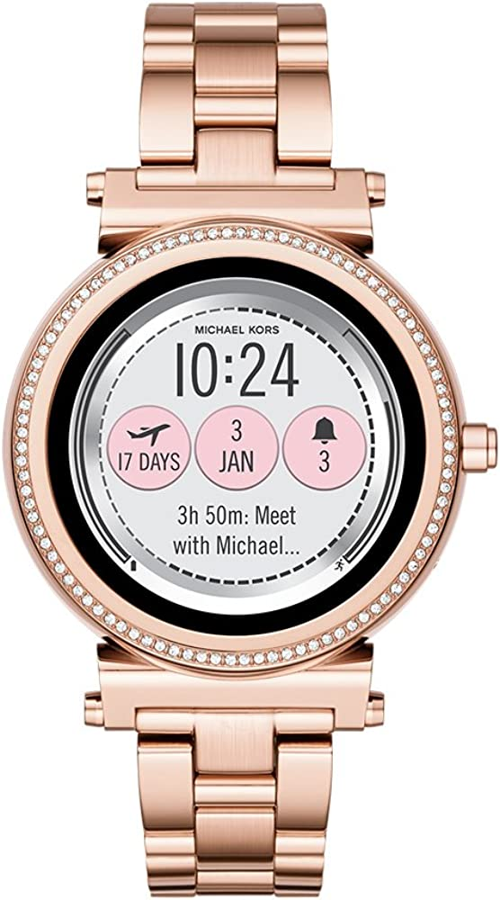 Michael Kors Access Gen 3 Sofie Touchscreen Smartwatch Powered with Wear OS by Google