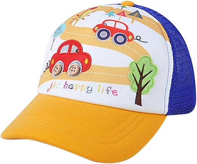 Kinder Baby Mädchen Jungen Basecap Kappe Cartoons Cap Mütze Sommer Snapback Hut