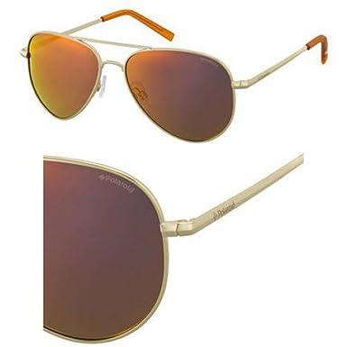 Polaroid Unisex-Erwachsene Sonnenbrille Pld 6012/N AI J5G, Gold (Gold/Brown), 62