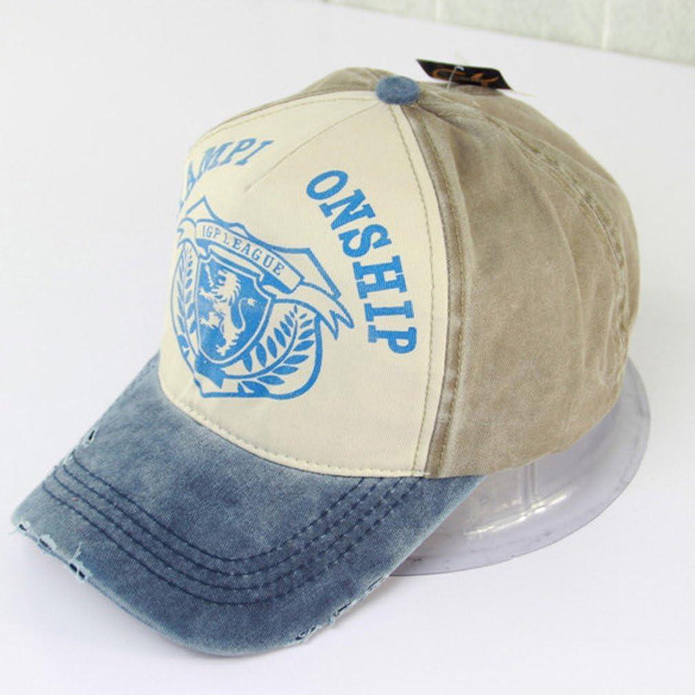 Belsen Damen Distressed Vintage Snapback Trucker Cap Baseball M/ütze