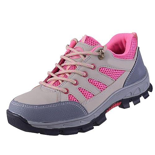 Amazon.com: Optimal Zapatos de seguridad para mujer zapatos ...