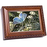 Cottage Garden Precious Gifts Woodgrain Inspirational Traditional Music Box Plays How Great Thou