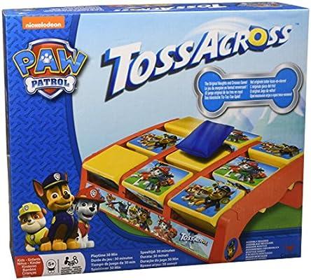 PAW PATROL 6028797 Juego de Mesa y Cruz para niños: Amazon.es: Juguetes y juegos