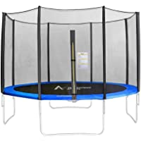 8-14 FT 6/8 Poles Replacement Protective Enclosure Safety Net for Trampoline - Trampoline Accessoire Safety Netting - Net Only
