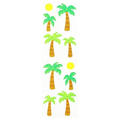 Mrs Grossman Stickers, Palm Trees & Sun: Arts, Crafts & Sewing [5Bkhe1102936]