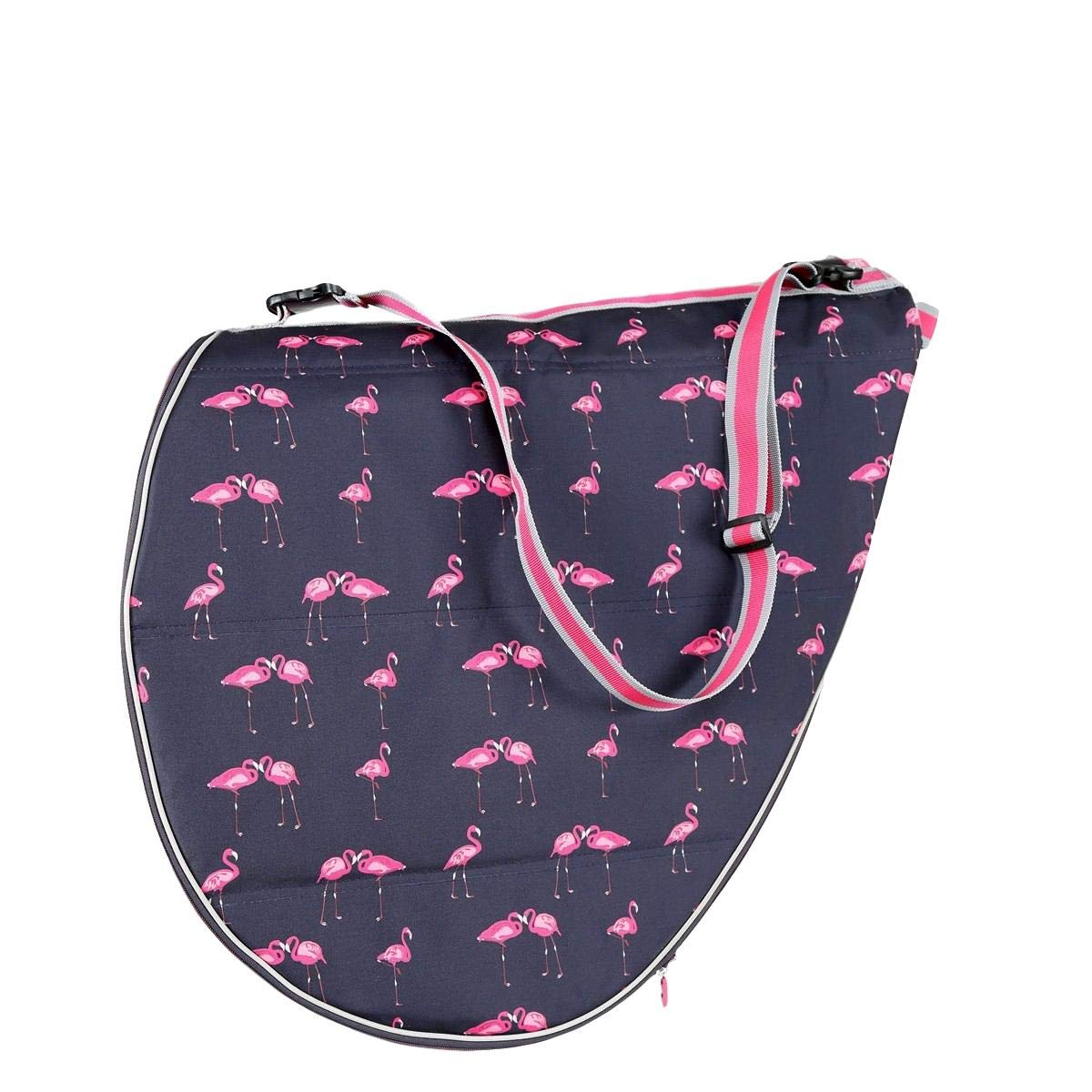 Shires Saddle Bag, Flamingo, One Size