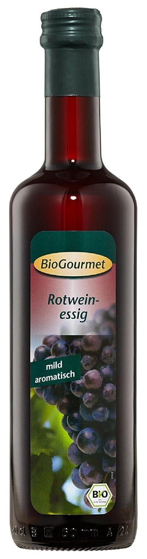 BioGourmet Rotweinessig, 6er Pack (6 x 500 ml Glas) - Bio: Amazon.de ...