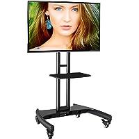 """Soporte móvil de Suelo para Pantallas LCD, LED , Plasma y curvadas de 32"""" a 65"""" (81cm-165 cm de Diagonal) con VESA máx…"""
