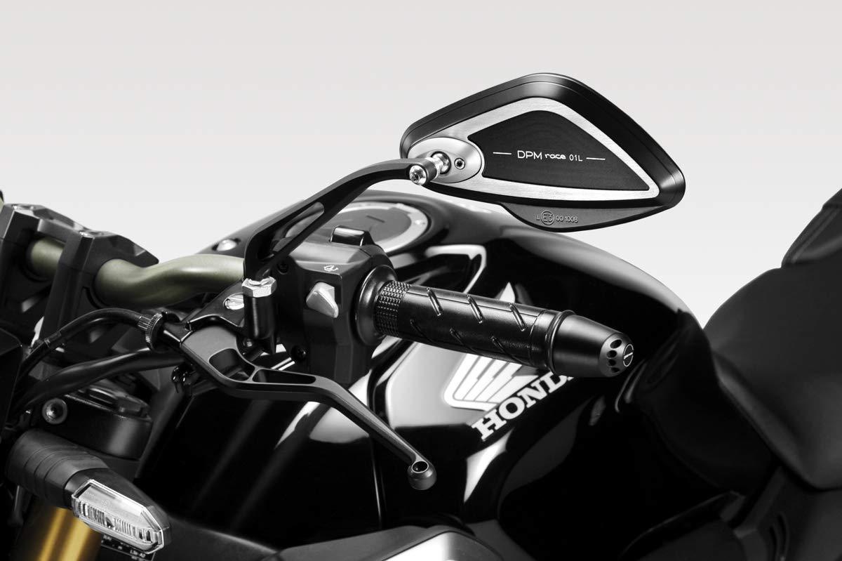 Hardware-Bolzen - 100/% Made in Italy Kit Sturzpads Warrior R-0821 CB650R 2019 - Aluminium Sturzschutz Rahmen Crash Sliders DPM Race Motorradzubeh/ör De Pretto Moto inkl