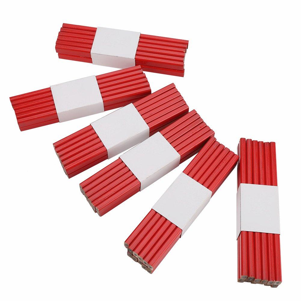 Rexel Blackedge Box Of 72 Medium Red Carpenters Brickies Brick Layers Pencils