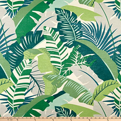 Tommy Bahama Home Playa Eterna Palma Linda Verde verde, Fabric by the Yard ()